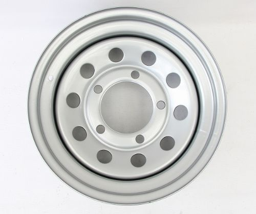 Silver Modular Wheel 16in x 8in - EACH